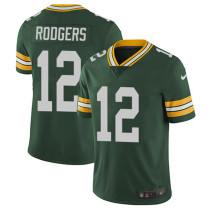Mens Green Bay Packers Aaron Rodgers Nike Green NFL Jersey 2021