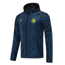 Mens Inter Milan All Weather Windrunner Jacket Royal 2021/22
