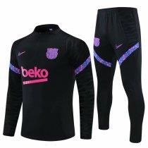 Mens Barcelona Training Suit Black 2021/22