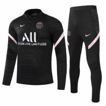 Mens PSG Training Suit Black 2021/22