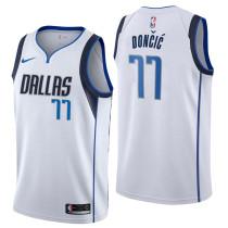 Mens Dallas Mavericks Nike White 2021 Swingman Jersey - Association Edition