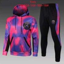 Kids PSG x JORDAN Hoodie Sweatshirt + Pants Suit Pink 2021/22