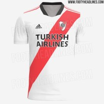 Mens River Plate Home Jersey 2021/22