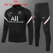 Kids PSG Training Suit Black 2021/22