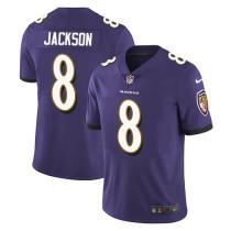 Mens Baltimore Ravens Lamar Jackson Nike Purple NFL Jersey 2021