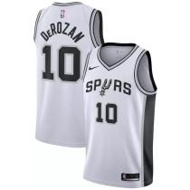 Mens San Antonio Spurs Nike Black Swingman Jersey - Association Edition