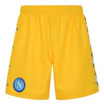 Mens Napoli Special Edition Yellow Shorts 2021/22