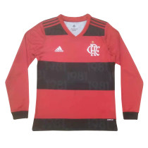 Mens Flamengo Home Jersey Long Sleeve 2021/22