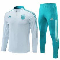 Mens Bayern Munich Training Suit Grey 2021/22