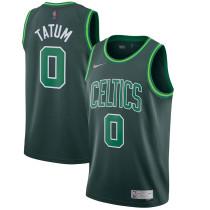Mens Boston Celtics Nike Green 2021 Swingman Jersey - Earned Edition