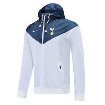 Mens Tottenham Hotspur All Weather Windrunner Jacket White 2021/22