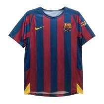 Mens Barcelona Retro Home Jersey 2005/06