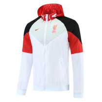 Mens Liverpool All Weather Windrunner Jacket White 2021/22