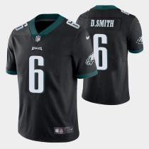 Mens Philadelphia Eagles DeVonta Smith Nike Black NFL Jersey 2021