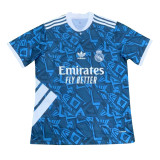 Mens Real Madrid Classic Jersey Blue