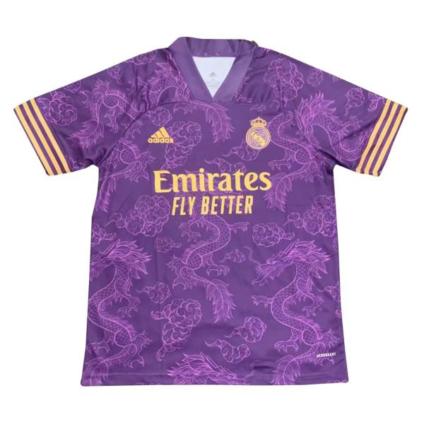 Mens Real Madrid Classic Jersey Purple