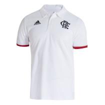 Mens Flamengo Polo Shirt White 2021/22
