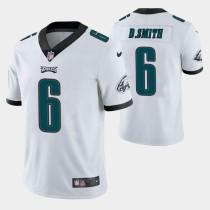 Mens Philadelphia Eagles DeVonta Smith Nike White NFL Jersey 2021