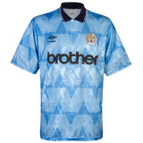Mens Manchester City Retro Home Jersey 1989