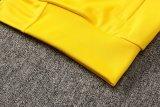 Mens Napoli Jacket + Pants Training Suit Yellow 2021/22