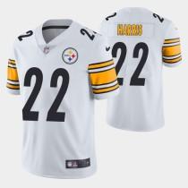 Mens Pittsburgh Steelers Najee Harris Nike White NFL Jersey 2021