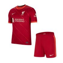Kids Liverpool Home Jersey 2021/22