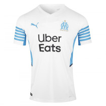 Mens Olympique Marseille Home Jersey 2021/22