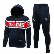 Mens PSG x Jordan Hoodie Jacket + Pants Training Suit Royal 2021/22
