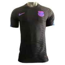 Mens Barcelona Pre-Match Black Jersey 2021/22 - Match