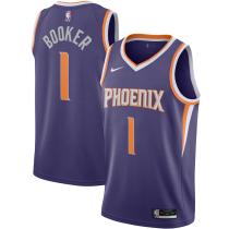 Mens Phoenix Suns Nike Purple 2020/21 Swingman Jersey - Icon Edition
