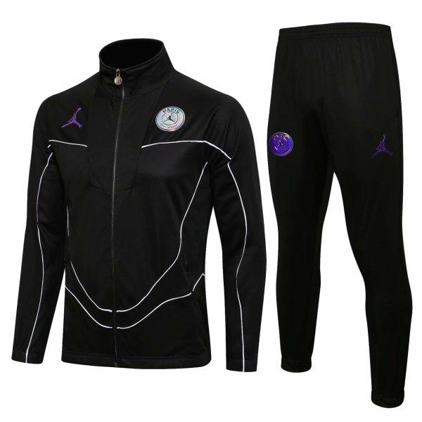 Mens PSG x Jordan Jacket + Pants Training Suit Black 2021/22