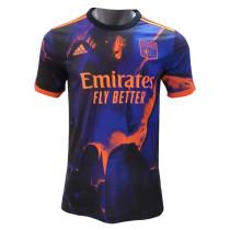 Mens Olympique Lyonnais Third Jersey 2021/22