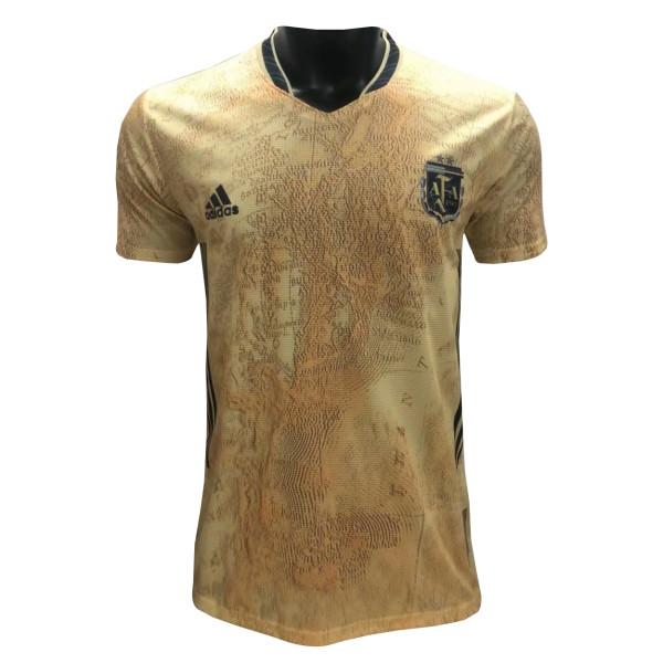 Mens Argentina Commemorative Edition Gold Jersey 2021/22