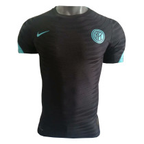 Mens Inter Milan Pre-Match Black Jersey 2021/22 - Match