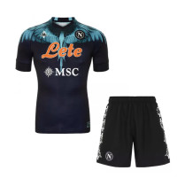 Kids Napoli Special Edition Black Jersey 2021/22