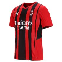 Mens AC Milan Home Jersey Mens 2021/22