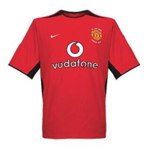 Mens Manchester United Retro Home Jersey 2002-2004