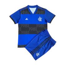 Kids Flamengo Blue Jersey 2021/22