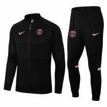 Mens PSG Jacket + Pants Training Suit Black 2021/22