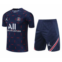 Mens PSG x Jordan Short Training Suit Royal 2021/22