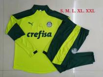 Mens Palmeiras Training Suit Green 2021/22