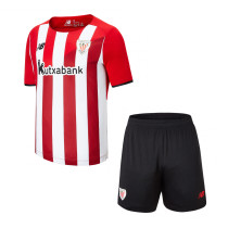 Kids Athletic Bilbao Home Jersey 2021/22
