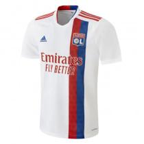 Mens Olympique Lyonnais Home Jersey 2021/22