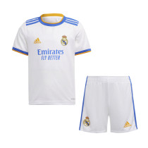 Kids Real Madrid Home Jersey 2021/22