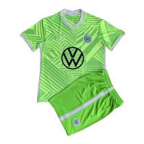 Kids VfL Wolfsburg Home Jersey 2021/22