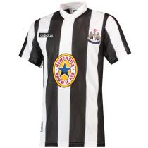 Mens Newcastle United Retro Home Jersey 1995-1997