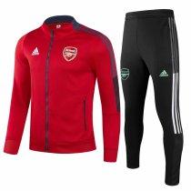 Mens Arsenal Jacket + Pants Training Suit Red 2021/22