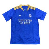 Mens Real Madrid Short Training Jersey Blue 2021/22