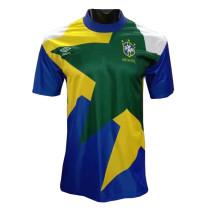 Mens Brazil Retro Away Jersey 1991-1994