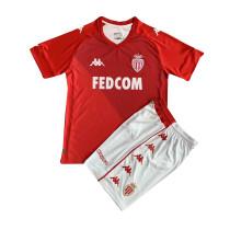 Kids AS Monaco Home Jersey 2021/22